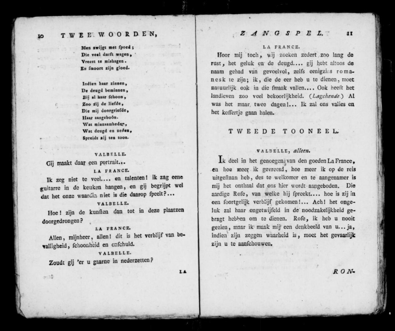 Image 8 Of Twee Woorden Of Een Nacht In Het Bosch