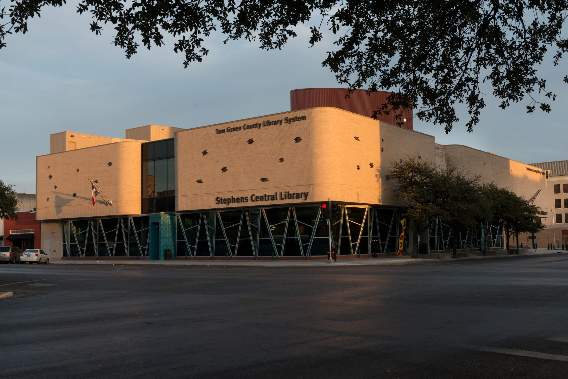 Stephens Central Library, which opened in 2011 in San Angelo, the ...