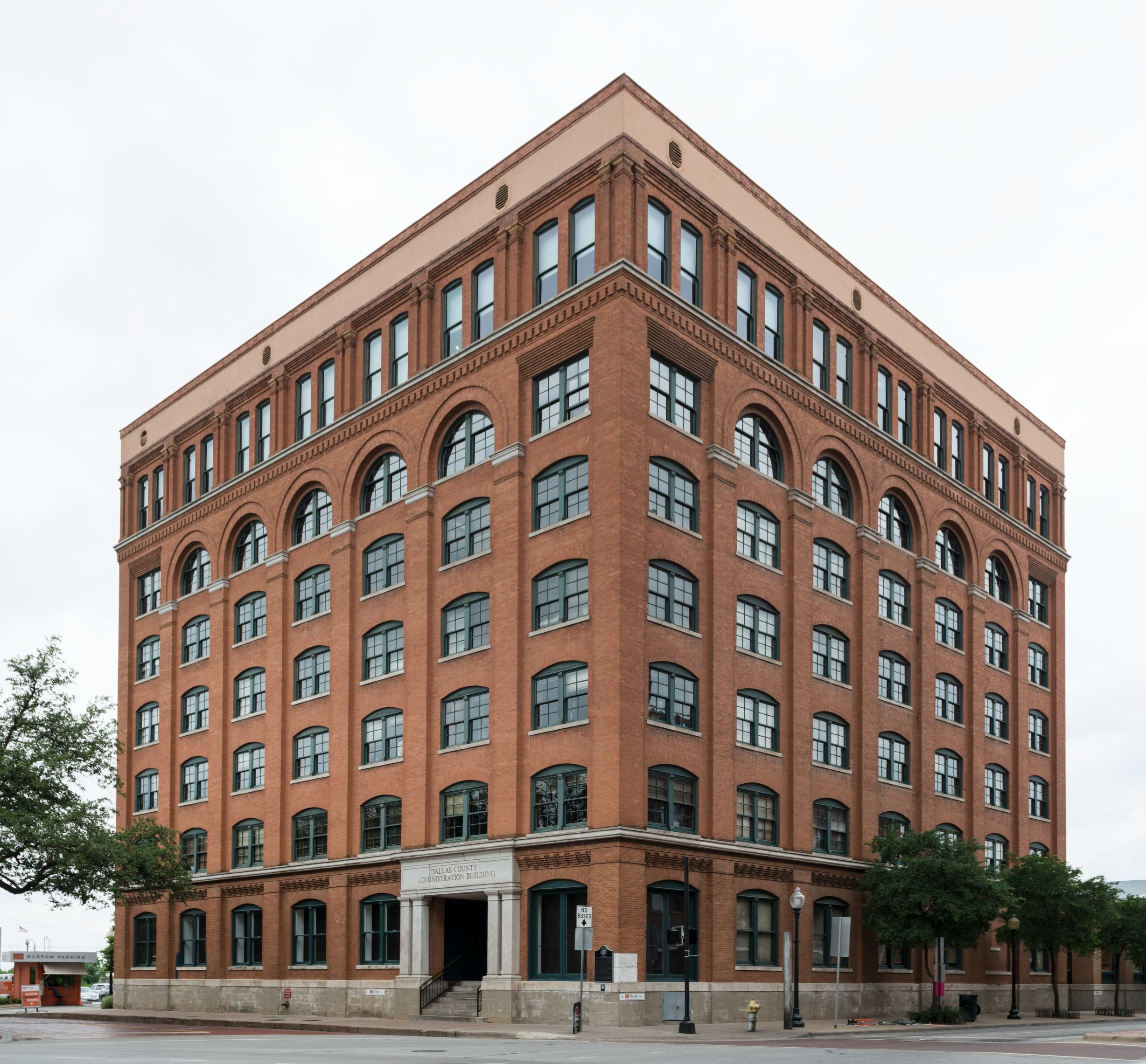 The Texas School Book Depository In Dallas Texas Where Lee