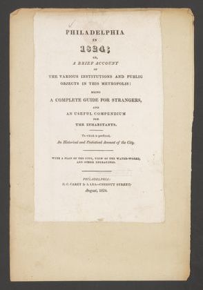 Copyright Title Pages, 1824-1825