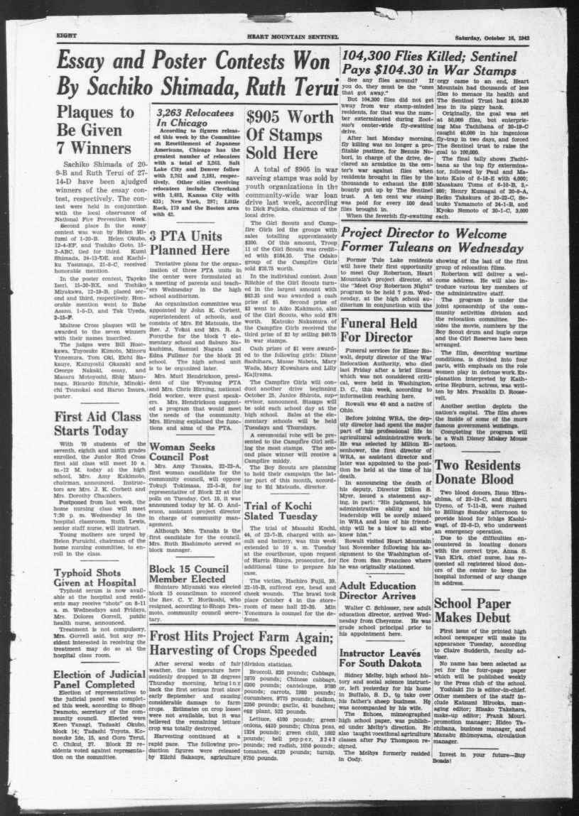 Newspaper Evacuation And Relocation Of Japanese Americans United