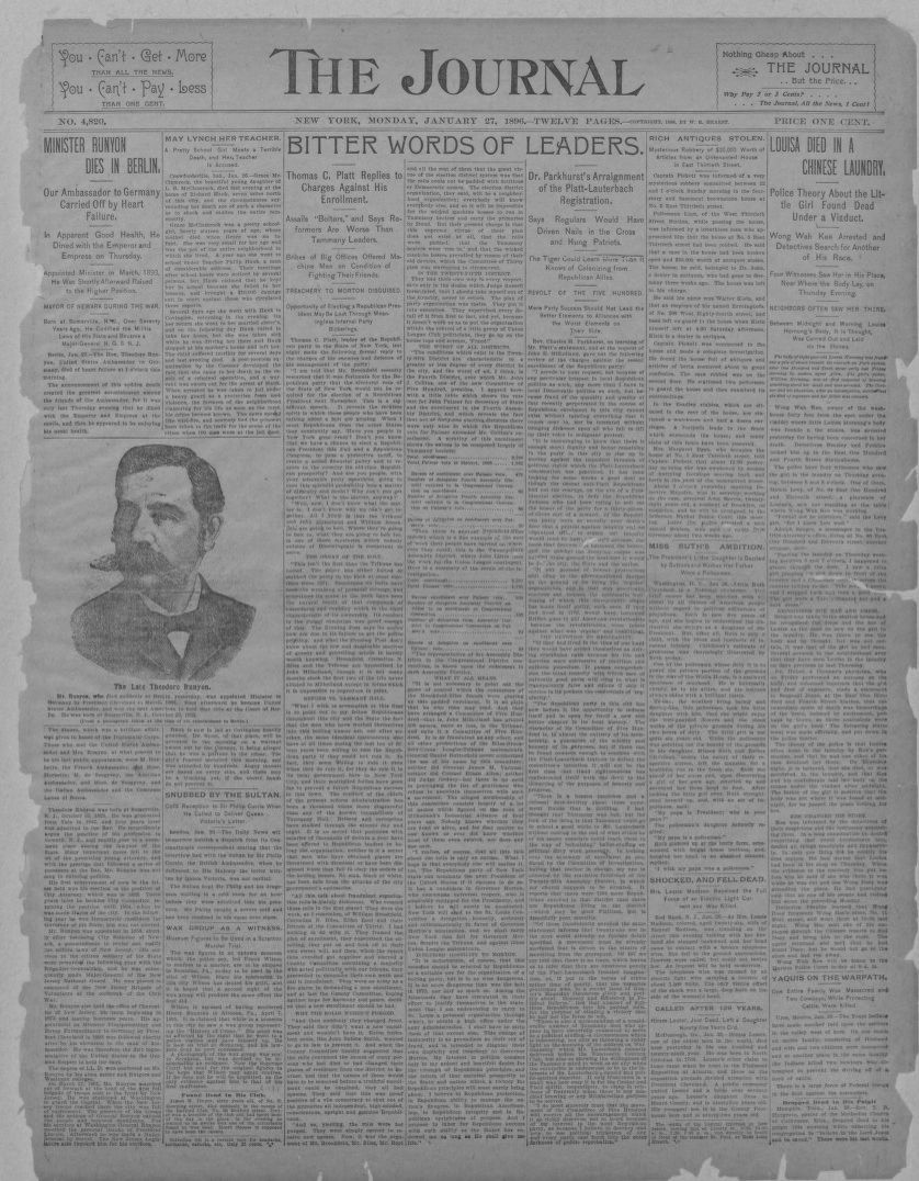 Newspaper, Newspapers | Library of Congress