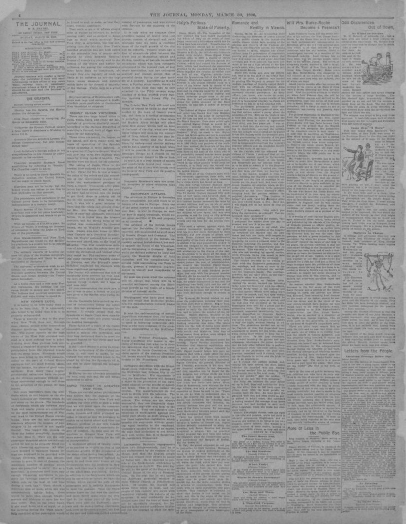 Image 4 of The journal (New York [N Y ]), March 30, 1896 | Library
