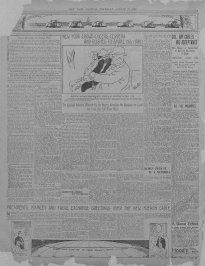 Image 2 of New York journal and advertiser (New York [N Y