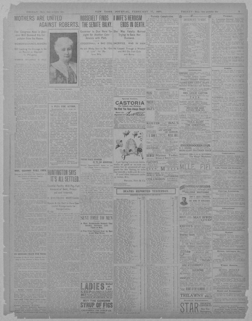 Image 7 Of New York Journal And Advertiser New York Ny