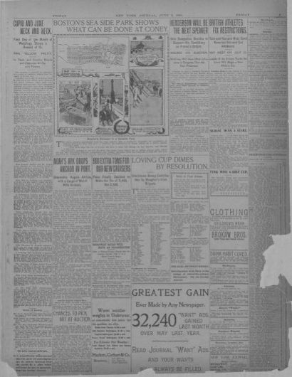 Image 9 of New York journal and advertiser (New York [N Y