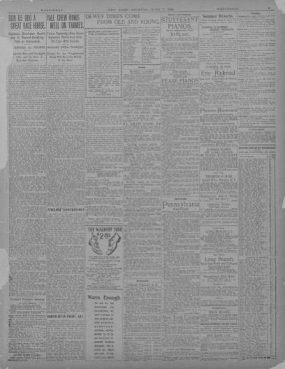 Image 9 of New York journal and advertiser (New York [N Y ]), June 7
