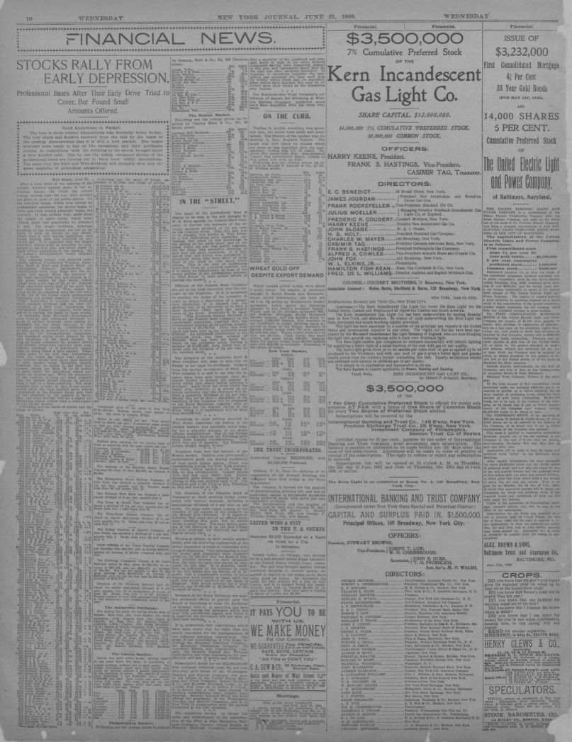 Image 10 of New York journal and advertiser (New York [N Y
