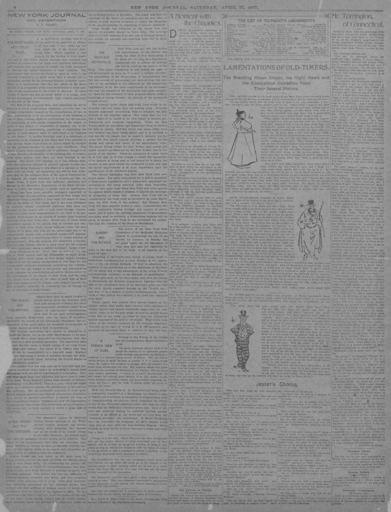 Image 6 of New York journal and advertiser (New York [N Y