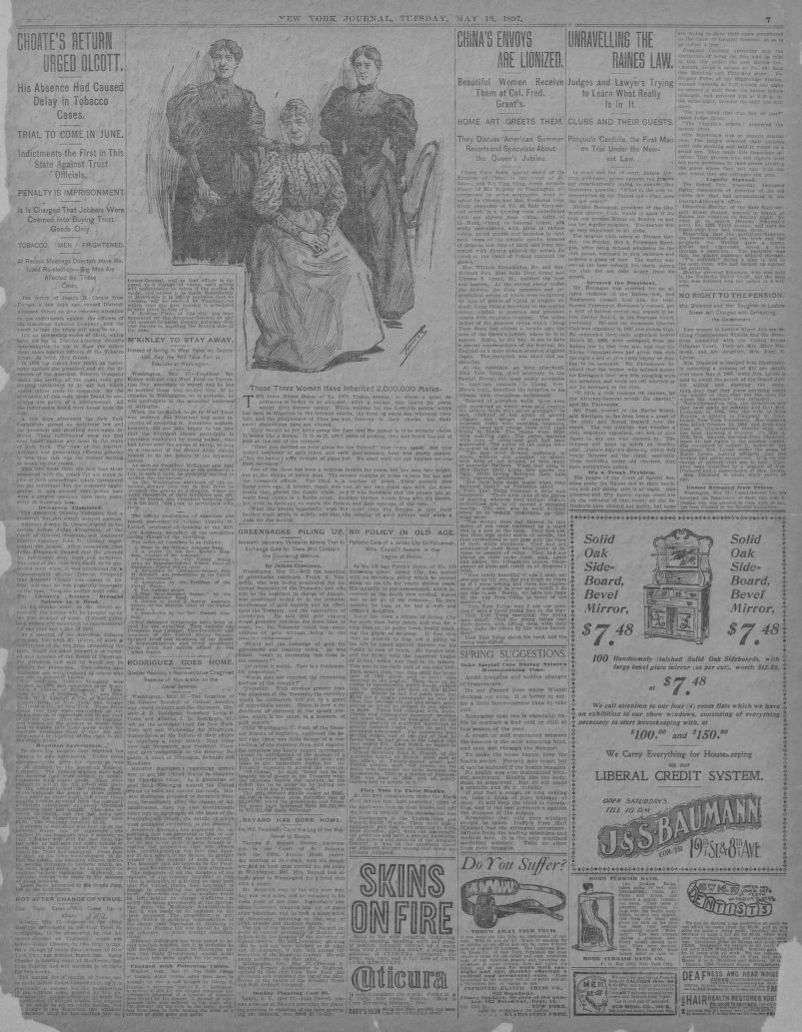 Image 7 of New York journal and advertiser (New York [N Y