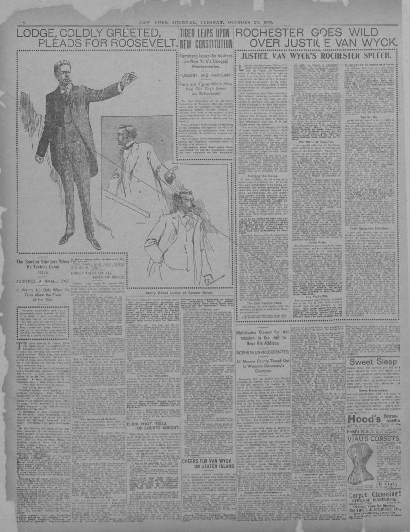 Search results for Newspaper, Theodore Roosevelt, Available