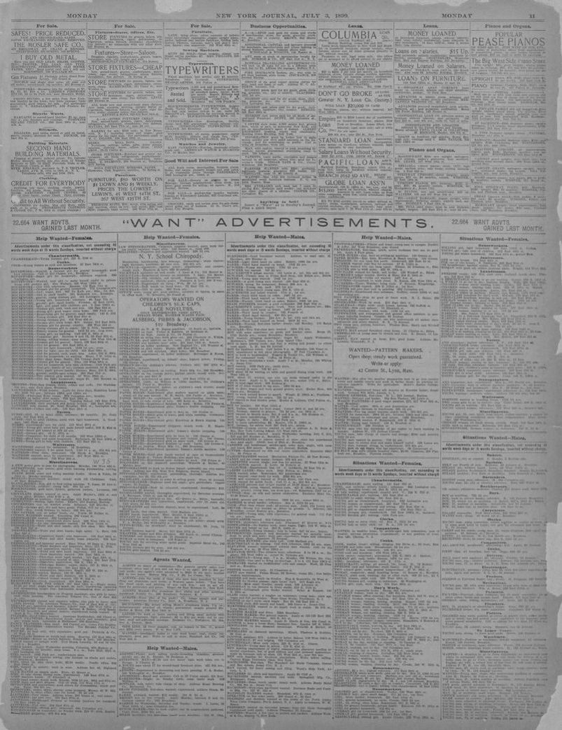 Image 11 Of New York Journal And Advertiser New York N Y