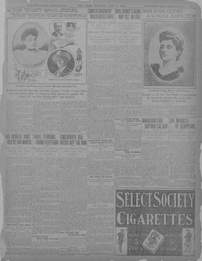 Image 3 Of New York Journal And Advertiser New York Ny July 8