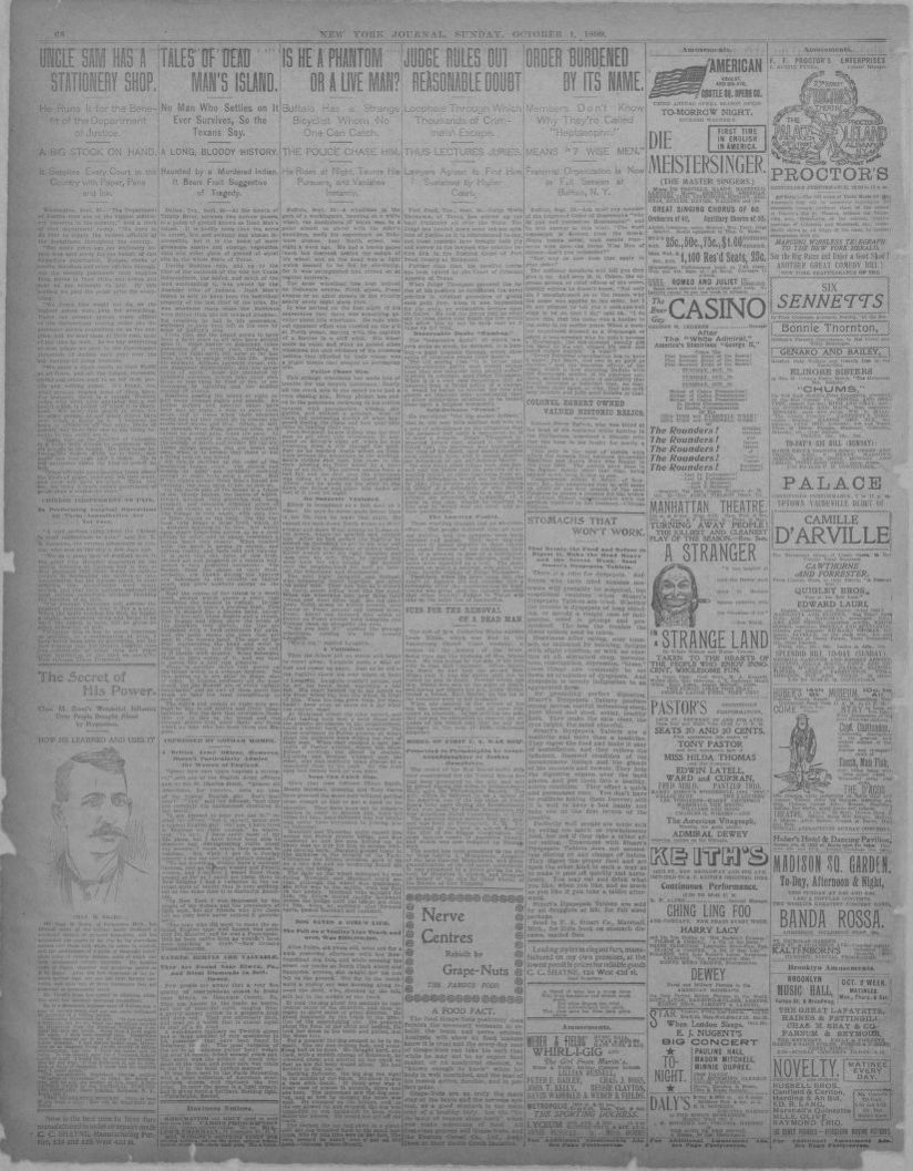 Image 40 of New York journal and advertiser (New York [N Y