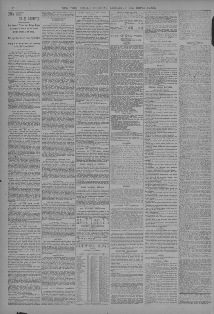 Image 10 of The New York herald (New York [N Y ]), January 8