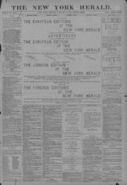Image 1 of The New York herald (New York [N Y ]), January 19