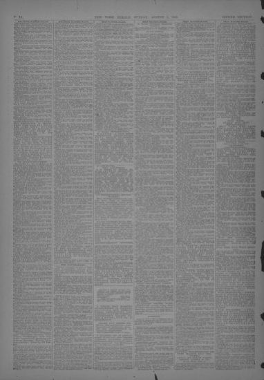 Image 38 Of The New York Herald NY August 2 1903 SECOND SECTION