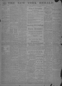 Image 1 of The New York herald (New York [N Y ]), August 5
