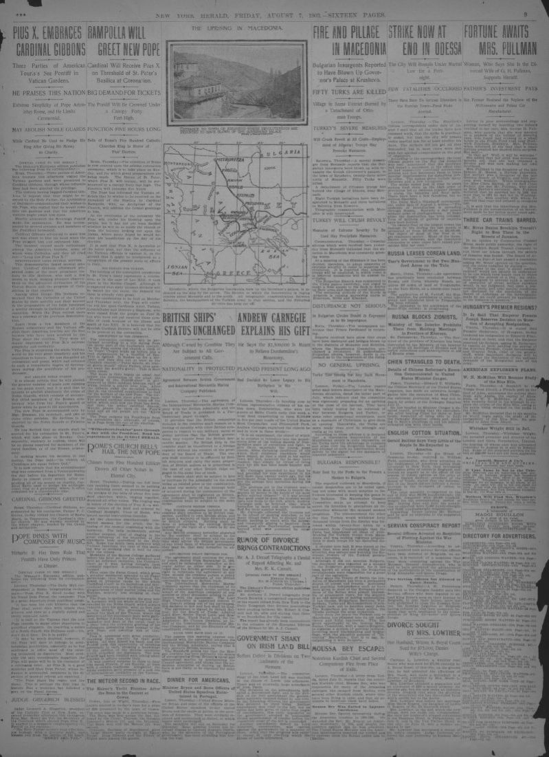 Image 9 Of The New York Herald New York Ny August 7 1903
