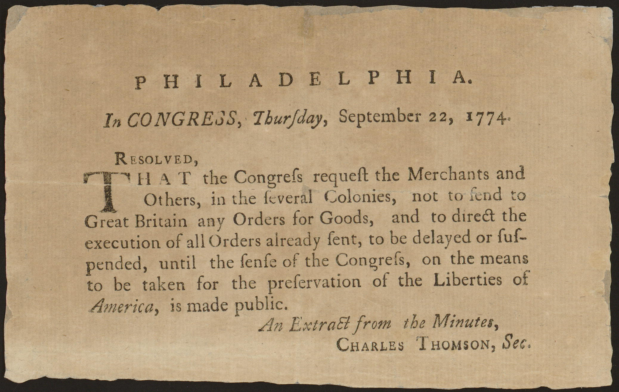 Philadelphia was the first meeting place of the Second Continental Congress FC