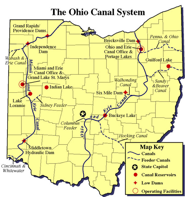 The Ohio Canal System