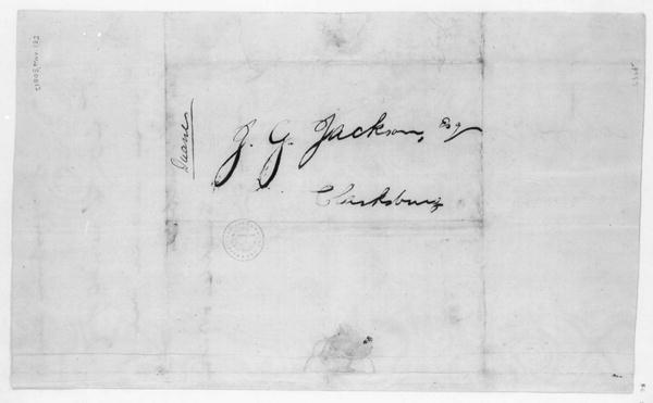 Campbell & Britton to John G. Jackson, March 13, 1805.