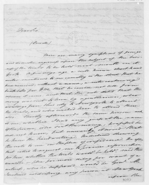 Tench Coxe to James Madison, June 28, 1807.