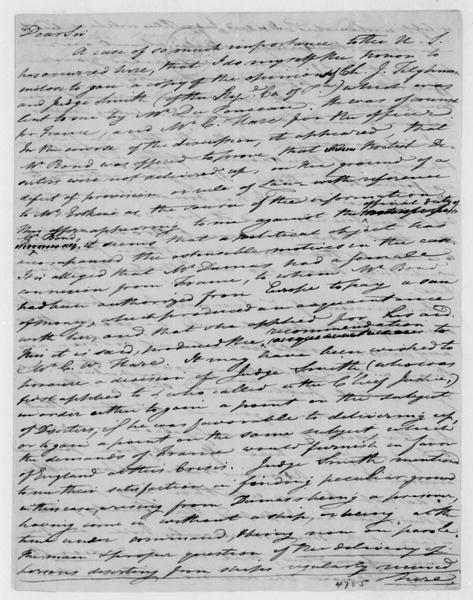 Tench Coxe to James Madison, July 21, 1807.