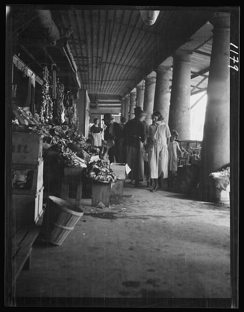 Market scene, New Orleans
