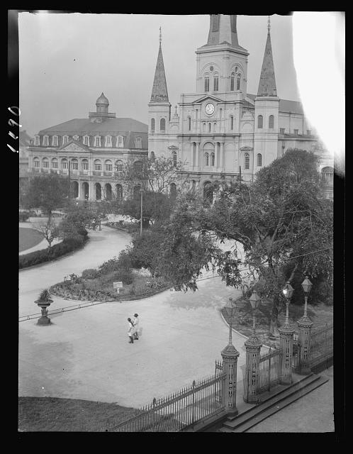 St. Louis Cathedral and the Cabildo, New Orleans