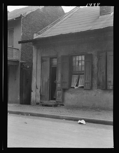 House in the French Quarter, New Orleans