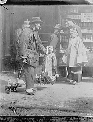 The toy peddler, Chinatown, San Francisco