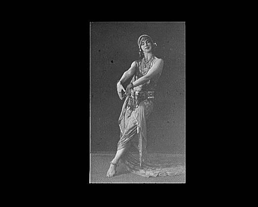 Ruth St. Denis dancing