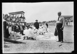First Aid contest, Red Cross, Buffalo, Rochester and Pittsburgh Railway held at Punxsutawney