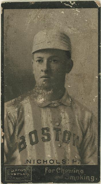 [Kid Nichols, Boston Beaneaters, baseball card portrait]