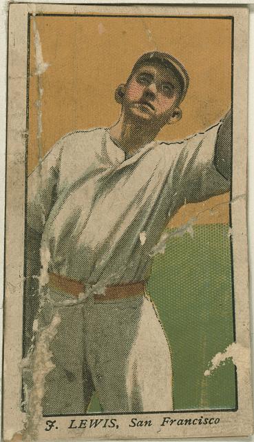 [F. Lewis, San Francisco Team, baseball card portrait]