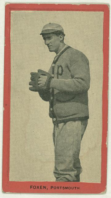 [Foxen, Portsmouth Team, baseball card portrait]