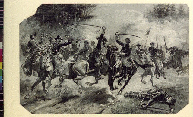 The Second United States Cavalry at Beverly Ford
