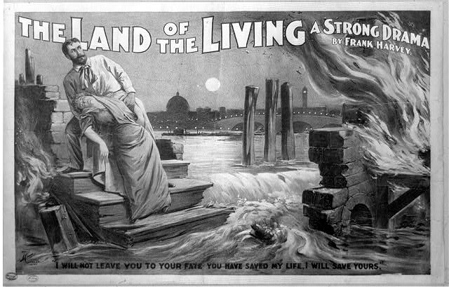 The land of the living a strong drama : by Frank Harvey.
