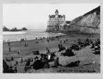 The beach and Cliff House, San Francisco