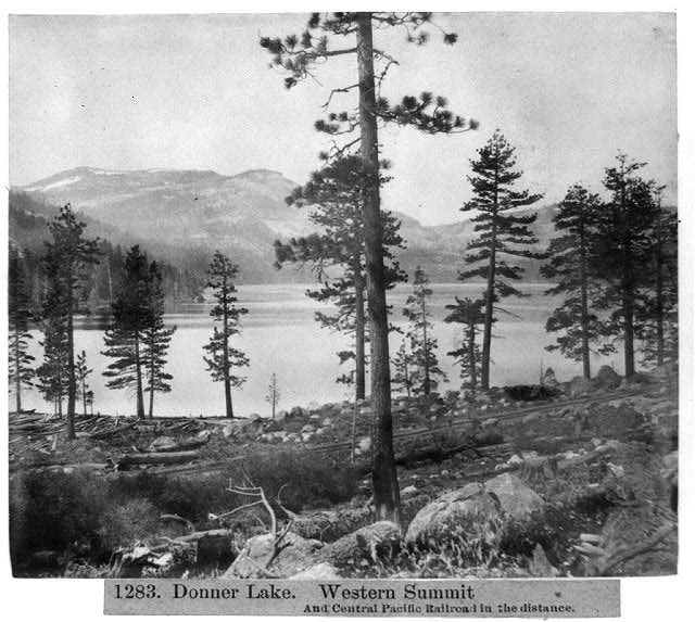 Donner Lake and Central Pacific R.R.