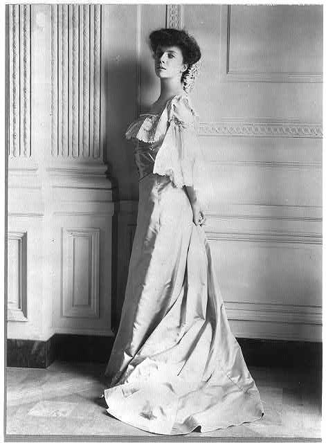 Portrait of Alice Roosevelt.