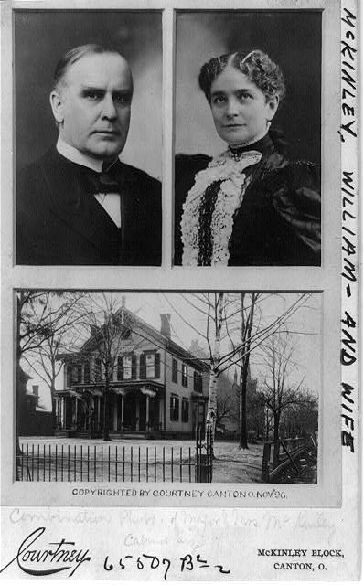 William McKinley (and wife)