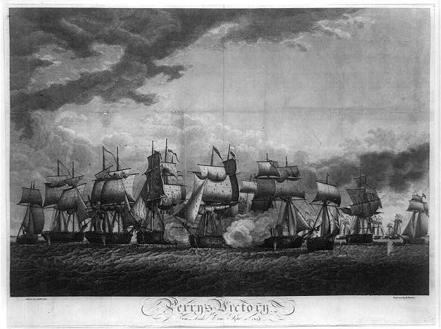 Perry's victory on Lake Erie, Sept. 10th 1813