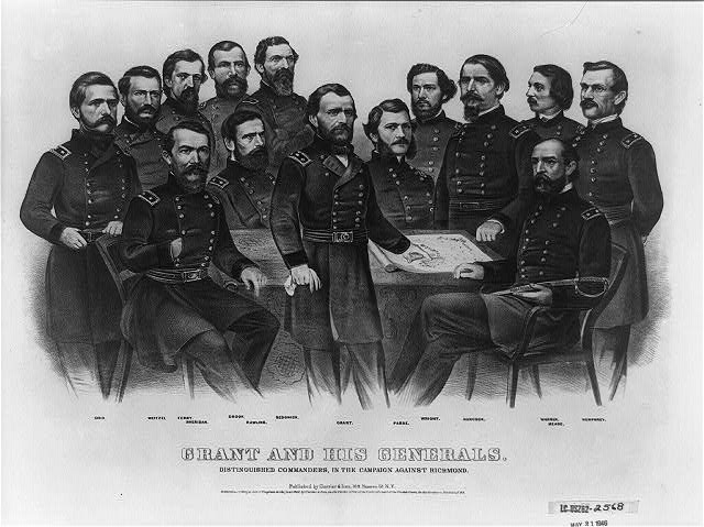 Grant and his generals: distinguished commanders, in the campaign against Richmond