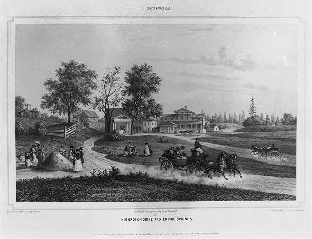 Saratoga. Highrock-Iodine and Empire Springs