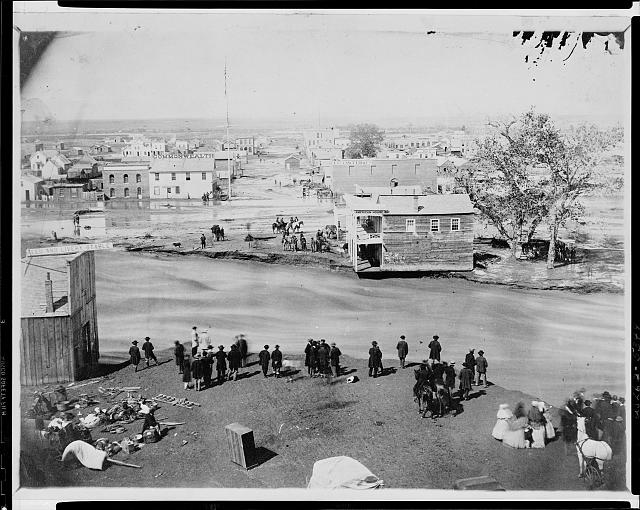 The Great Flood, Denver, Colorado Territory, May 19, 1864