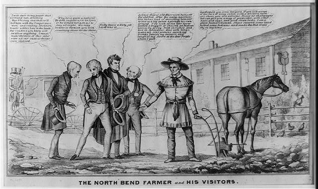 The North Bend farmer and his visitors