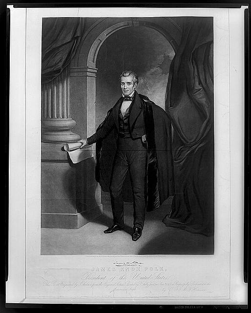 James Knox Polk, President of the United States