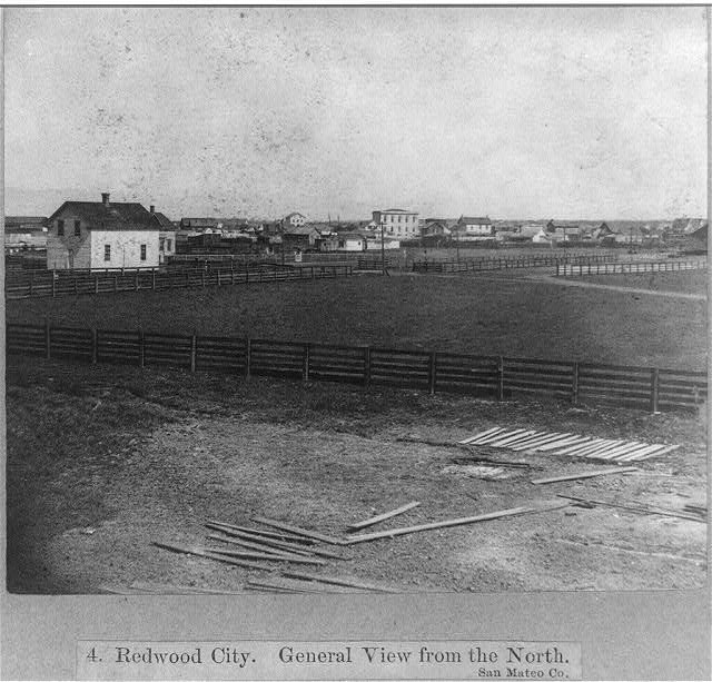 Redwood City - general view from the north